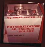 potabilizzatore, sole, energia solare